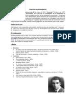 Biografía de Pablo Palacios