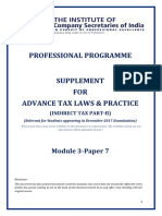Cover Page Customs Laws