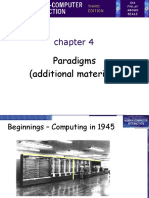 Chapter 4 - Paradigms (Extras)