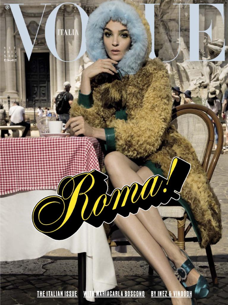 Vogue Settembre 2017Italy N Fashion Italia 805 xWrBCoed