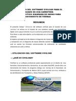 Utilizacion Del Software Civilcad