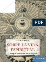 Jacob Bohme Sobre La Vida Espiritual
