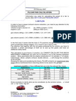 Filcar Fan Calculation 2007