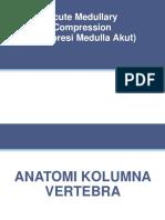 Medulla Compression Acute