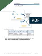 10.3.1.3 Packet Tracer Multiuser - Tutorial