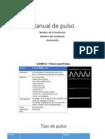 Formato Para El Manual de Pulso