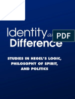 P. T. Grier - Identity and Difference. Studies in Hegel's Logic, Philosophy of Spirit and Politics