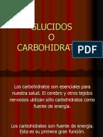 2-Glucidos o Carbohidratos