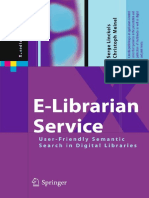 E-Librarian Service  User-Friendly Semantic Search in Digital Libraries