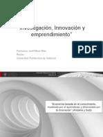 Investigación, Innovación y Emprendimiento
