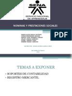 Nominas y Prestaciones Sociales