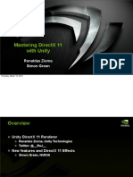GDC2012 Mastering DirectX11 With Unity