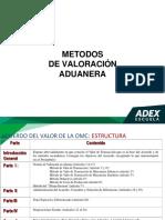 Metodos de Valoracion Aduanera Adex