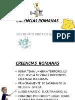 CREENCIAS  ROMANAS.pptx