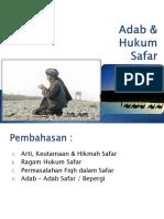 Adab Dan Hukum Safar