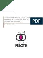 ED La Divers Id Ad Afectivo- Sexual y Familiar en Los Manuales de EpC y Los Derechos Humanos (FELGTB)