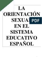 ED La orientación sexual en el sistema educativo español