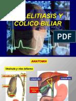 Colelitiasis y Colico Biliar