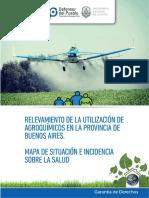 Relevamiento Uso de Agroquimicos Pcia Buenos Aires 2013 Dp Unlp
