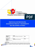 Protocolo de Diagnostico y Tratamiento Del Melanoma. Hug. 2015.Docx 1