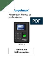 Control Targetmax Altron Ta 2013