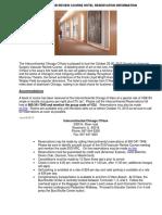13 Oct VRC Hotel Reservation Information