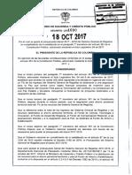 Decreto 1690 Del 18 de Octubre de 2017