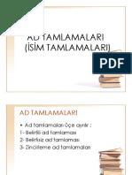 AD TAMLAMALARI.ppt