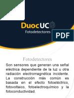 DuocUC Presentación Semana 8 Foto Detectores 2