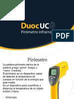 DuocUC Presentación Semana 5 Pirómetro Infrarrojo