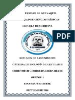 Biofísica - Unidad I, II, III - Resumen Con Ejemplos