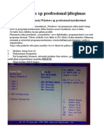 Windows Xp Professional as