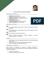 Curriculum Daniel Iturralde P.