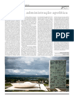 Azevedo & Albernaz 2017 a Falácia Da Administração Apolítica