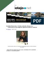 Incêndios Entrevista Cristina Andrade