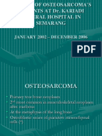 Osteosarcoma Ppt