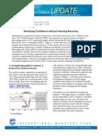 World Economic Outlook Update - IMF