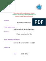 Informe de Organica 5