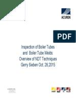 Acuren Boiler Tube Inspection Oct 28 2015