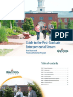 GuidePost GraduateEntrepreneurialStream