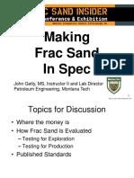 Frac Sands