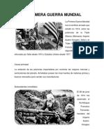 LA PRIMERA GUERRA MUNDIAL.docx