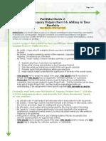 Portfolio Check 2- Integrating Assignment 1 (Revised F17)