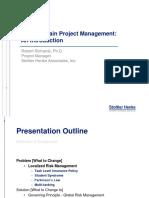 Critical Chain Project Management