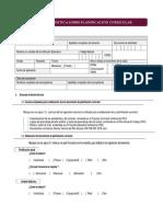 Ficha de Analisis PCA