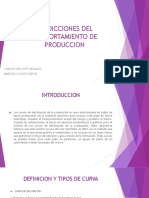Predicciones de comportamiento de produccionExpo. Kony y Maricruz