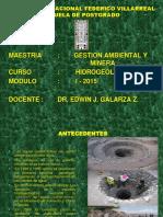 Inventario de Fuentes de Agua- Maestria