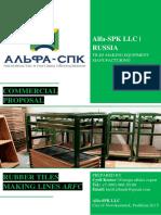 Commercial Proposal ARFC Lines Alfa-SPK