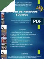 Residuos Solidos Definicion y Clasificacion