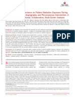 Impact of Center Experience on Patient Radiation Exposure During Transradial Coronary Angiography and Percutaneous Intervention a Patient-Level, International, Collaborative, Multi-Center Analysis